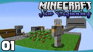 New Beginning - Ep. 1: A 1.9 Skyblock!   New Beginnings Minecraft Modpack Let's Play