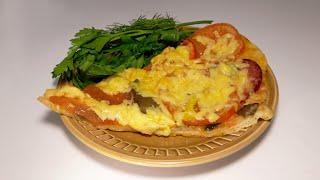 Пицца домашняя вкусный рецепт