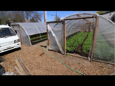 Cheap, Lean and DIY Greenhouses