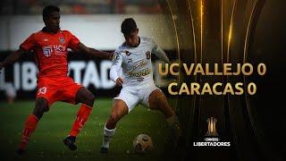 César Vallejo vs. Caracas FC [0-0] | RESUMEN | Fase 1 | CONMEBOL Libertadores 2021