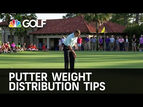 Putter Weight Distribution Tips - The Golf Fix | Golf Channel