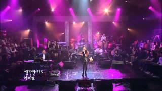 박정현 (Lena Park) - 달아요 (Sweet / 6th album) @ 2010.12.22 Live Stage