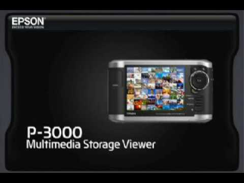 NEW DRIVERS: EPSON P-3000 MULTIMEDIA STORAGE VIEWER