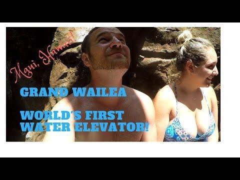 Grand Wailea Water Elevator   Maui, Hawaii - Full Ride