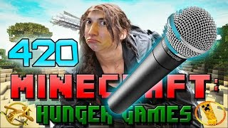 Minecraft: Hunger Games w/Mitch! Game 420 - WORST MICROPHONE EVER!