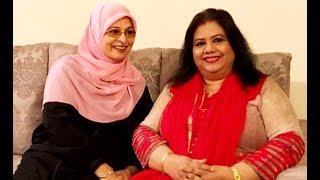নায়িকা শাবানাকে রুনা লায়লার কাছে যেতে হল যে কারণে !  Runa Laila Shabana showbiz news !