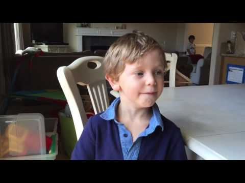 4 Year-old Persian-American's Plan to Stop Trump...Can You Guess?
