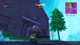 Fortnite duos and new absrakt sking with paint roller pickaxe