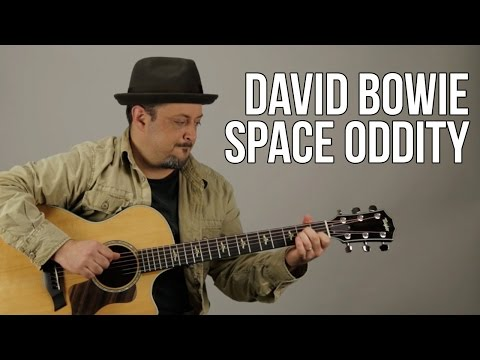 "How to Play ""Space Oddity"" by David Bowie on guitar - Acoustic"