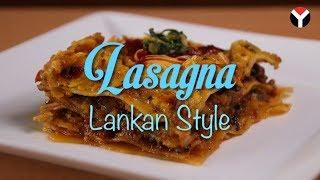 Lasagna - Lankan Style