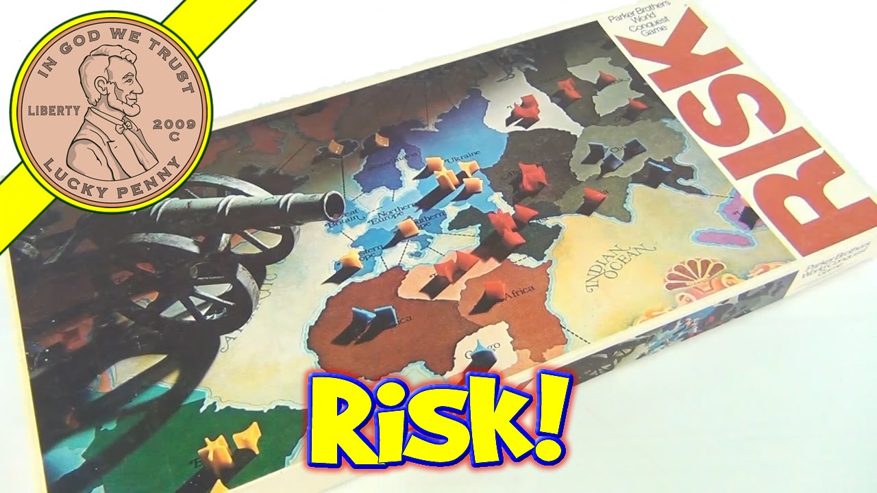 risk world conquest vintage board game 44 1975 parker brothers rh youtube com Board Game Rules Game Board Directions
