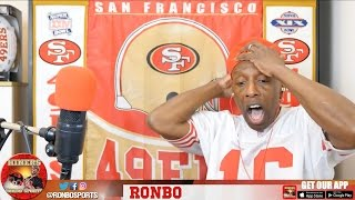 Ronbo Sports In Yo Face, At Yo Place Watching The Game! 49ers VS Cardinals 2016 Week 10 NFL