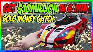 Easy Solo Unlimited - GTA 5 Money Glitch *Make 500Million$ Fast* gta Online 1.48 Money Glitch
