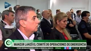 Pandemia de coronavirus: el gobernador Manzur lanzó el Comité de Operaciones de Emergencia