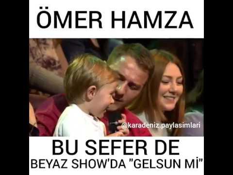 Ömer Hamza Bu seferde Beyaz Show'u Coşturdu !!
