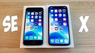НОВЫЙ IPHONE SE 2 ИЛИ СТАРЫЙ IPHONE X - ЛУЧШИЙ АЙФОН ДО 40К? ПОЛНЫЙ ОБЗОР