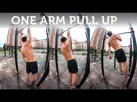ONE ARM PULL UP TUTORIAL. Technique. Exercises. Tips.