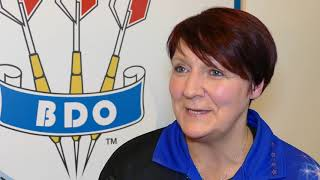 Lisa Ashton FOCUSED ahead of Dobromyslova final   World Trophy 2019