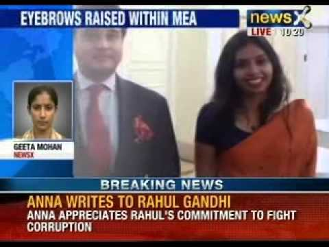 NewsX : Indian diplomat in US was strip-searched, kept in jail with drug  addicts