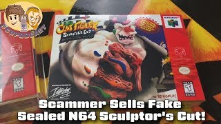 Scammer Sells Fake Sealed N64 Sculptor's Cut!