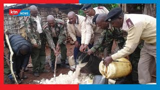 Two people arrested in connection to illicit poisonous liquor that killed 10 people in Nakuru county