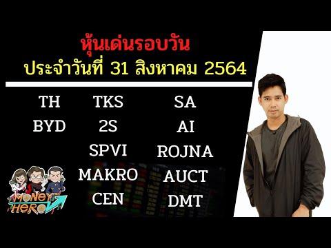 หุ้นเด่นรอบวัน ประจำวันที่ 31 สิงหาคม 2564 | Money Hero