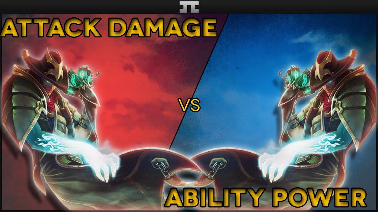 Twisted Fate Full AD vs Twisted Fate Full AP