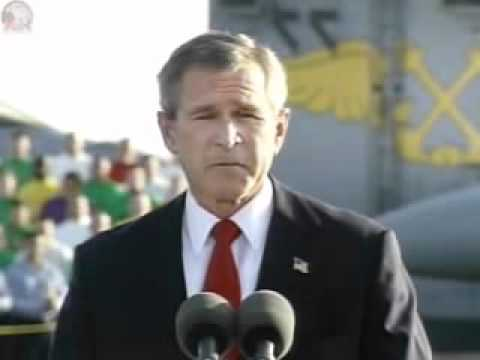 George W. Bush - Speech Marking End of Major Combat Ops In Iraq