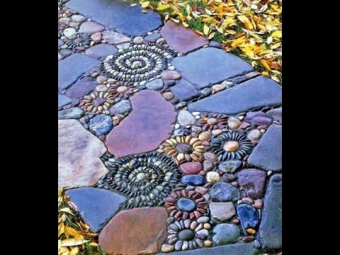 Stone Pebble Mosaic Ideas