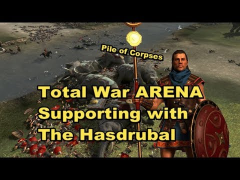 Total War ARENA: Supporting with the Hasdrubal