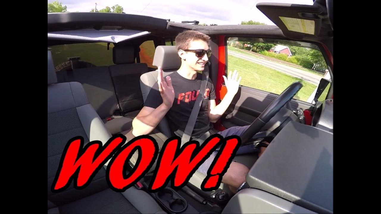 I love driving the manual transmission jeep wrangler youtube publicscrutiny Choice Image