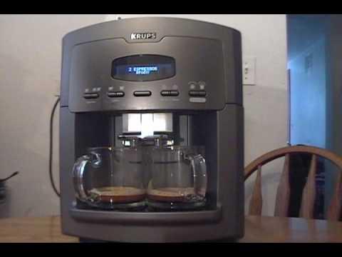 Krups Espresseria Automatic Xp9000 Espresso Machine Part 1