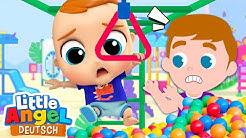 Familienspaß im Spielpark | Zeichentrick | Little Angel Deutsch