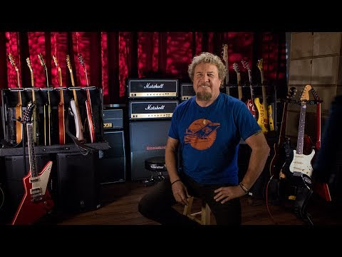 Sammy Hagar's Guitar Collection Part 1