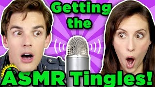 Tingles or Terrible?! | Matpat Reacts to ASMR Videos!