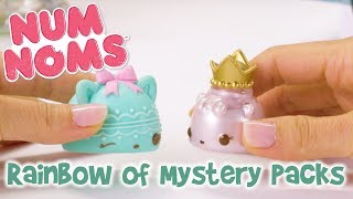 Rainbow of Mystery Packs | Num Noms | Official Play Video