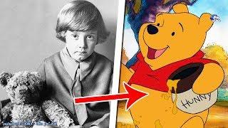 القصة الحقيقية الحزينة لويني الدب الكرتون الشهير  !!