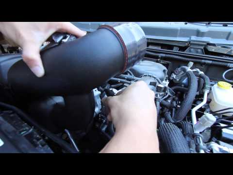Banks Cold Air Intake Installation Video Jeep Wrangler JK