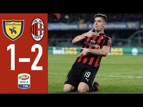 Highlights Chievo 1-2 AC Milan Matchday 27 Serie A TIM 2018/19