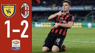 Highlights Chievo 1-2 AC Milan Matchday 27 Serie A TIM 2018/19