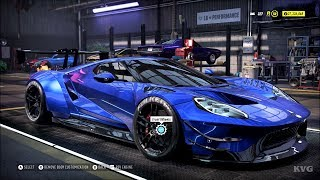Need for Speed Heat - Ford GT 2017 - Customize | Tuning Car (PC HD) [1080p60FPS]