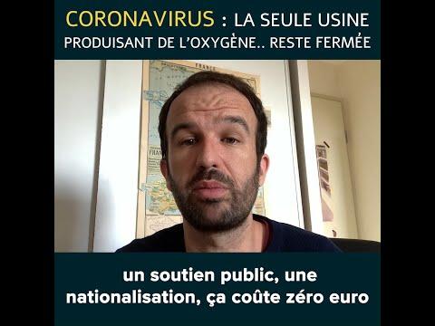 CORONAVIRUS : LA SEULE USINE PRODUISANT DE L'OXYGÈNE... RESTE FERMÉE !