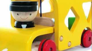 Plan Toys | Sorting Bus Toy Review