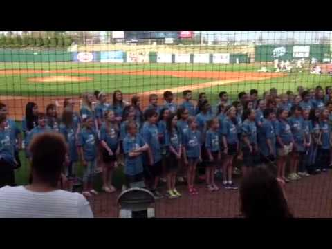 I was here by bright field middle school choir