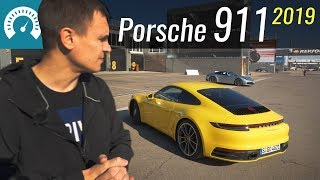 Новый 911 Жжёт! Первый Тест Porsche 911 2019