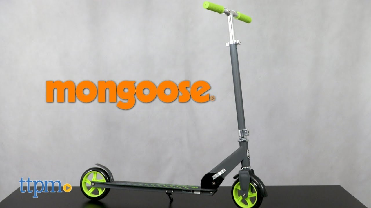 Mongoose Force 3 0 Folding Scooter from Pacific Cycle