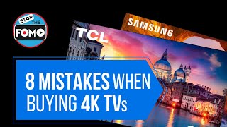 Top 8 Mistakes: The TV Buying Guide (End the Confusion!)