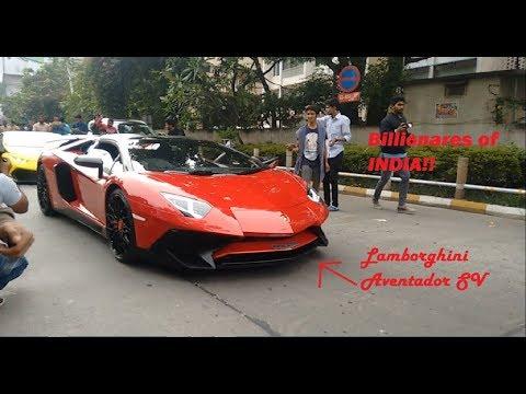 Lamborghini Supercar Event INDIA(Bangalore)- BULL RUN 2k17