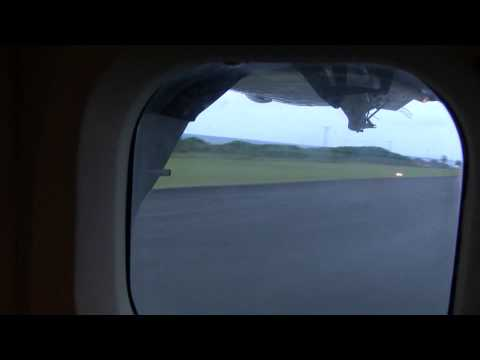 Landing at Vance B Amory International Airport, Nevis West Indies