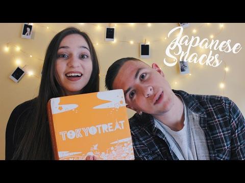 Δοκιμάζουμε Ιαπωνικά Snacks ft. Γιάννης • TokyoTreat